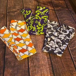NEW LuLaRoe Vintage Kids Halloween Leggings
